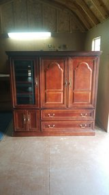 Entertainment Center - Solid Wood! in Shreveport, Louisiana