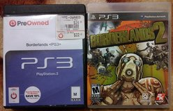 Borderlands 1&2 PS3 in Travis AFB, California