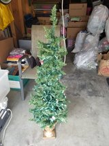 Mini Christmas Tree with 5 sets of lights in Camp Pendleton, California