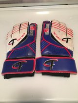 Leather youth soccer goalie gloves in Wheaton, Illinois