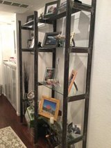 Cast iron custom shelving unit- great for boutique shop or home collections in Miramar, California