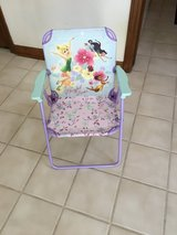 Kids tinkerbell lawn chair in Shorewood, Illinois