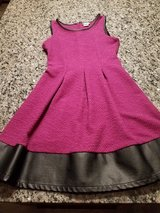Pink-Black dress for girls size 14 in Shorewood, Illinois