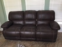 Leather Couch & Loveseat & Recliner in Kingwood, Texas