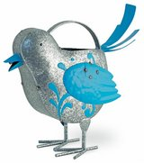 """Adorable Metal Benny Blue Bird watering can Size: 12""""l x 5 1/2""""w x 12""""h Brand New in Camp Lejeune, North Carolina"""