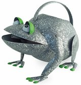 """Adorable Metal Croaky Frog watering can Size: 9""""l x 7 1/2""""w x 8""""h Brand New in Camp Lejeune, North Carolina"""