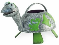 """Adorable Metal Donny Turtle watering can Size: 12""""l x 7""""w x 7 1/2""""h Brand New in Camp Lejeune, North Carolina"""