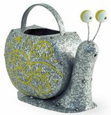 """Adorable Metal Snelly Snail watering can Size: 10""""l x 4 1/2""""w x 8 1/2""""h Brand New in Camp Lejeune, North Carolina"""