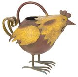 """Adorable Metal Rooster watering can Size: 12.25""""l x 11""""h Brand New in Camp Lejeune, North Carolina"""