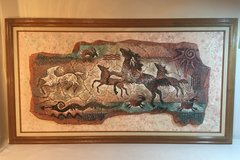 Native American Painting in Travis AFB, California