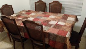 Ethan Allen dinning table with 6 chairs in Spring, Texas