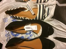 Old navy shoes in Fort Campbell, Kentucky