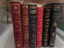 Franklin Mint leather books in Fairfax, Virginia
