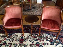 Velour Jefferson Chairs in Bolling AFB, DC