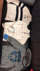 Three assorted of sweater for boys 4t in Eglin AFB, Florida
