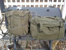 WWII/Korean War Combat Field Pack and Cargo Pack in Fort Leonard Wood, Missouri