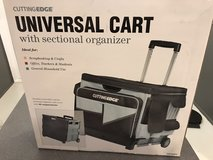 New Universal Cart with Sectional Organizers and 46 Compartments - Sealed in Box in Lockport, Illinois