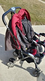 Combi double stroller in Plainfield, Illinois