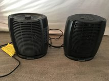 2 Small Space Heaters in Bolingbrook, Illinois