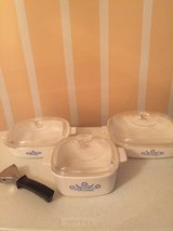 7 pc Vintage Corning Ware Blue Cornflower Cookware (individual prices listed) in Eglin AFB, Florida