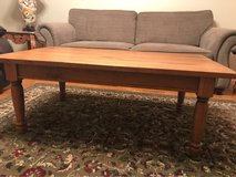 solid wood coffee table in Perry, Georgia