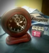 Desk/Table Top Clock w/ one pack of new in Perry, Georgia