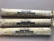 vintage Coping Saw Blades in Sandwich, Illinois