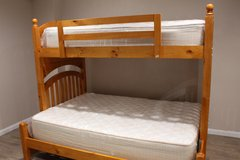 Twin / Full Bunk Bed (Including Mattresses) in Houston, Texas