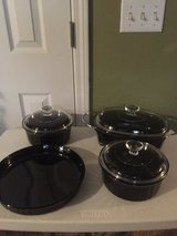 8 pc Classic Black Corning Ware (individual prices listed) in Eglin AFB, Florida