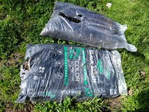 2 bags black mulch new in Vacaville, California