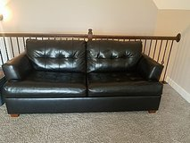 dark brown pullout couch in Pleasant View, Tennessee