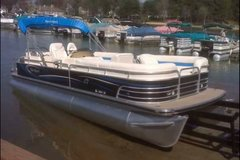 "26'2"" Pontoon Boat, Motor and Trailer in Cherry Point, North Carolina"