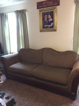 Brown fabric Sofa and love seat set in Fort Riley, Kansas