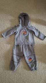 Disney World Sweatsuit Boys 24 month in Bartlett, Illinois