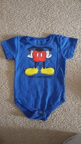 Disney Mickey Onesie 24 month in Bartlett, Illinois
