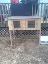 rabbit hutch in Fort Knox, Kentucky