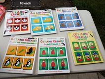 Arts and crafts cut and create books in Vacaville, California