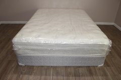 Queen Eurotop Mattress set (Noah's Sereny Sleep) in Houston, Texas