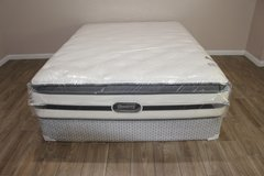 Queen Simmons Beautyrest (Vanderbilt - Bainbridge Plush Pillowtop) in Houston, Texas