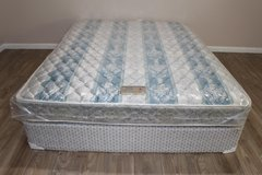 Queen Mattress Set from Sealy Posturepedic- Extra FIRM in Houston, Texas