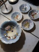 Beautiful Hand Painted Salad Set in Yucca Valley, California