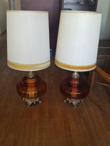 Two old school table lamps. in Alamogordo, New Mexico