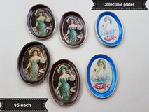 Pepsi collectible tin oval servers in Vacaville, California