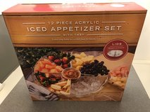 New 12 Piece Acrylic Iced Appetizer Set - New in Box in Naperville, Illinois