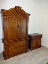Like New 3 Piece Vintage Armoire Set in Baumholder, GE