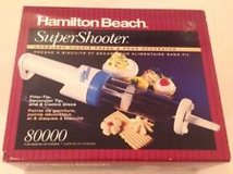 Hamilton Beach Super Shooter Cordless Cookie Press & Food Decorator - NEW in Glendale Heights, Illinois