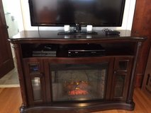 Electric Fireplace with heat and storage in Fort Hood, Texas