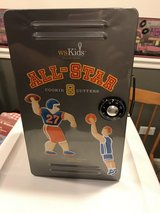 William Sonoma Sports Cookie Cutters in All Star Locker in Naperville, Illinois