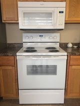 Used electric range & microwave set in Bolingbrook, Illinois