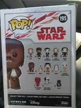Brand New In Box Pop's! Star Wars #195 Chewbacca in Fort Bragg, North Carolina